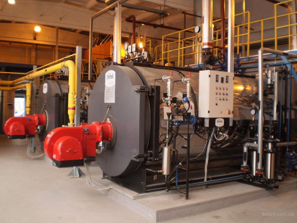 котельная промышленная газовая