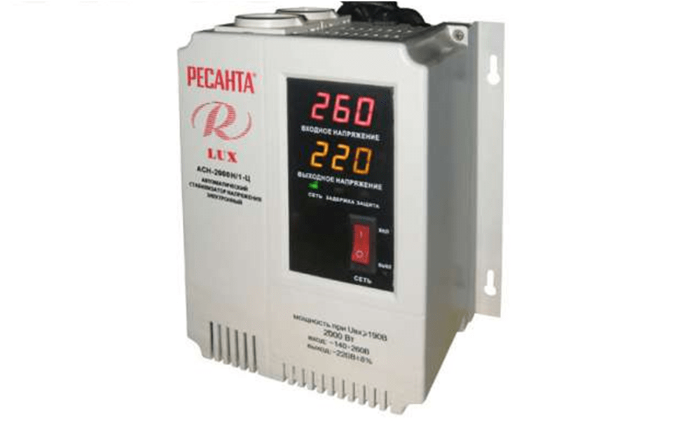 Stabilizator naprjazhenija Resanta ACH2000N 1C ljuks