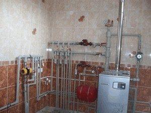 Пример обвязки газового котла