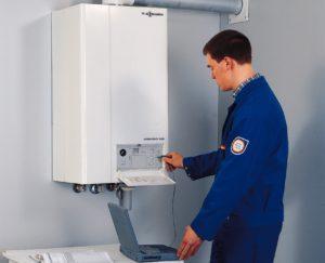 система самоконтроля газового котла
