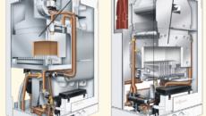Настенный турбированный газовый котел