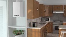 Газовый котел на кухне