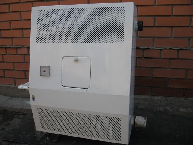 парапетный белый агрегат