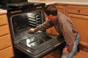 мытье духовки