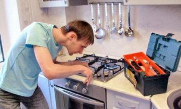 Ремонт газ-контроля духовки