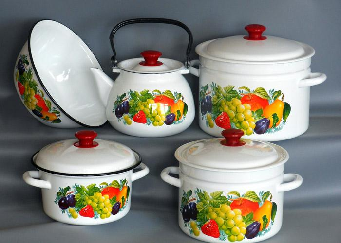 эмалированная посуда-1