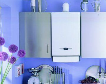 Агрегат в кухне квартиры