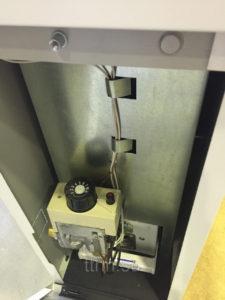 Напольный неисправный агрегат