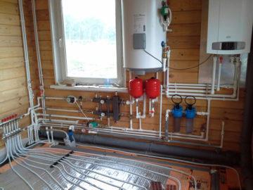 Теплый пол от газового котла