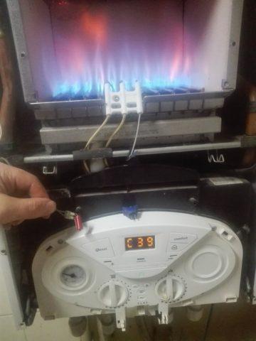 Ошибки газового котла аристон