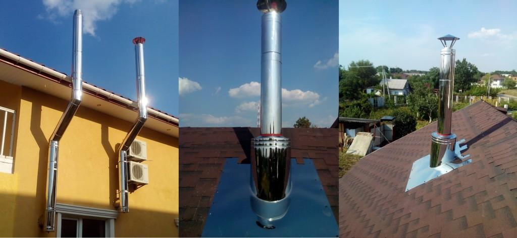 Трубы с дефлекторами