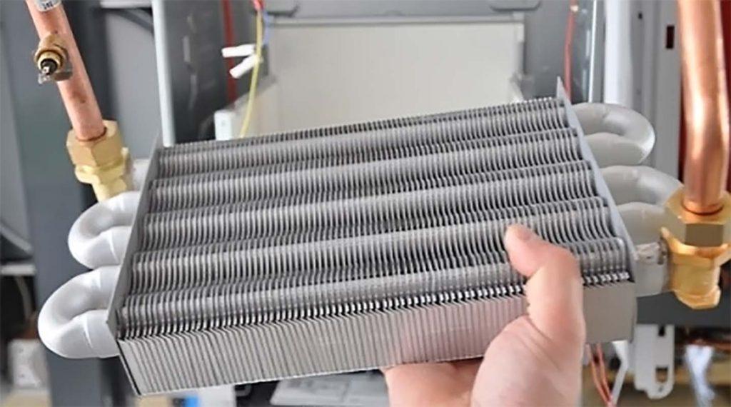 Котлы газовые снятие и установка теплообменника теплообменники funke каталог