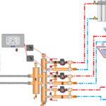 Схема подключения с гидрострелкой