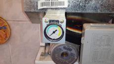 давление в газовом котле