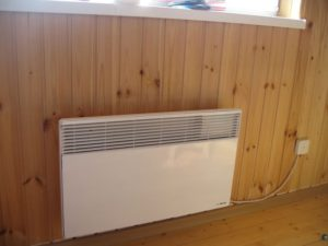 конвектор в деревянном доме
