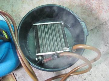 Как промыть теплообменник котла в домашних условиях Кожухотрубный теплообменник Alfa Laval ViscoLine VLO 76/104-6 Сургут