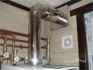 устройство вентиляции и дымовыведения