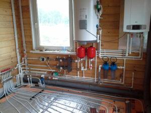 Теплый пол с газовым котлом