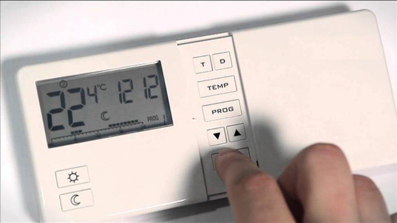 настройка термостата
