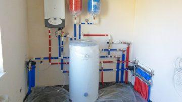 объем помещения для установки газового котла