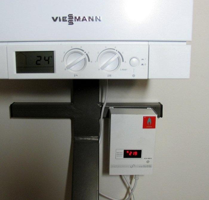 стабилизатор с газовым котлом
