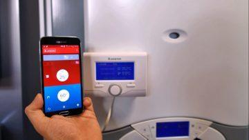 управление газовым котлом со смартфона