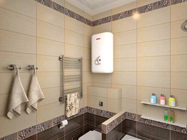 колонка в ванной