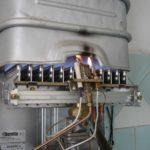 розжиг газовой колонки