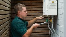 Техническое обслуживание газовой колонки